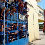 Unaccompanied Minors in the detention centre Pagani, august 20, 2009
