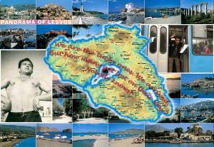 Panorama of Lesvos