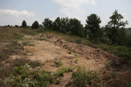Mass grave in the Evros region