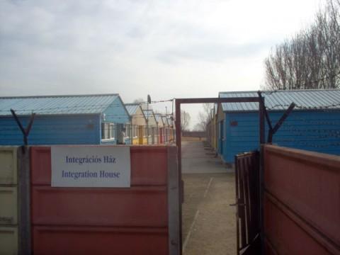 Refugee camp in Debrecen
